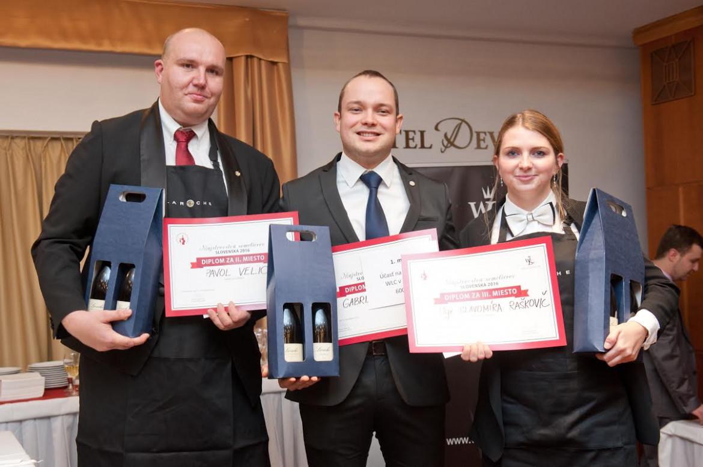 V strede víťaz Gabriel Kollár - absolvent našej školy